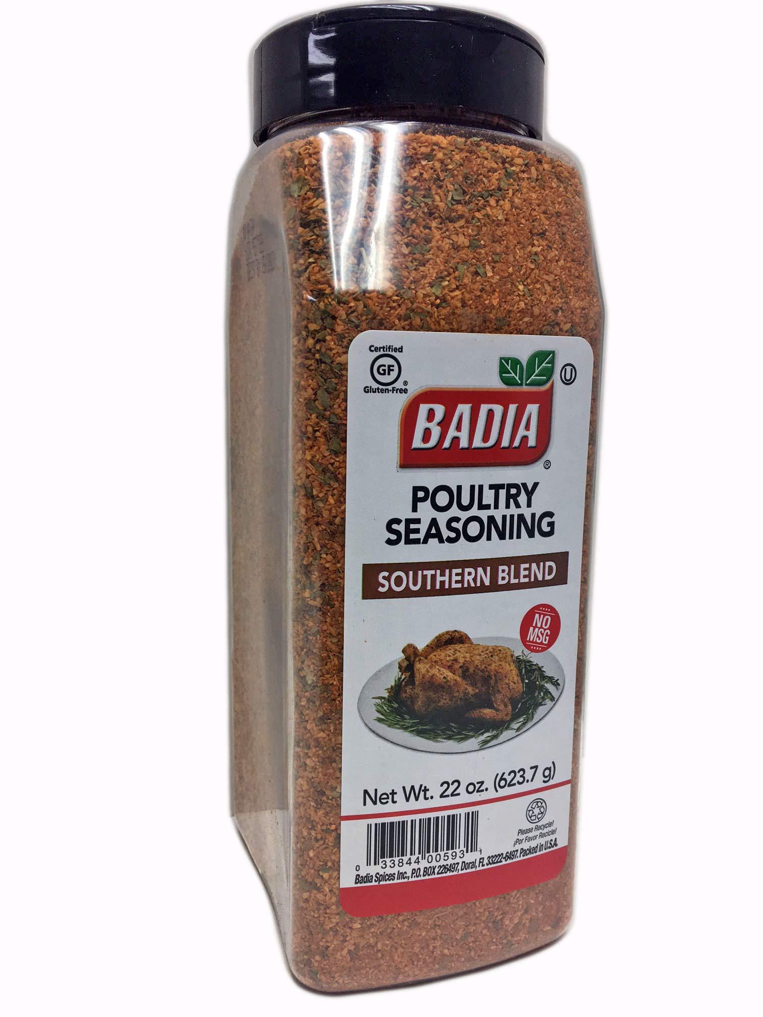 2 PACK Poultry Seasoning Southern Blend/Sazon Pollo Asado Kosher 2x22 oz