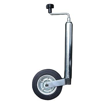 Unitec 10372 - Rueda Jockey para Remolque con manivela (48 mm): Amazon.es: Coche y moto
