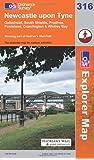 Newcastle Upon Tyne (Explorer Maps) (OS Explorer Map)