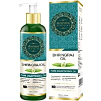 Morpheme Remedies Pure Bhringraj Hair Oil (ColdPressed & Undiluted) 200ml