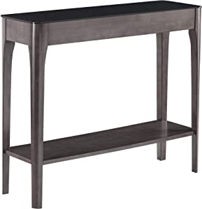 Leick Furniture, Incorporated Obsidian Hall Stand, Smoke Gray