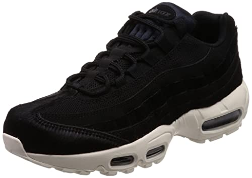 be21402826 Nike Women's WMNS Air Max 95 LX, Black/Black-Dark Grey-Sail: Amazon ...
