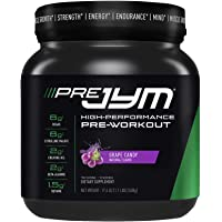 JYM Supplement Science Pre Jym Grape Candy, Black, 20 Count