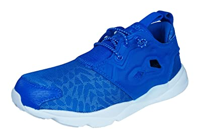 341eb05a37227 Reebok Classic Furylite Contemporary Chaussures de Course pour femme -Blue-35.5