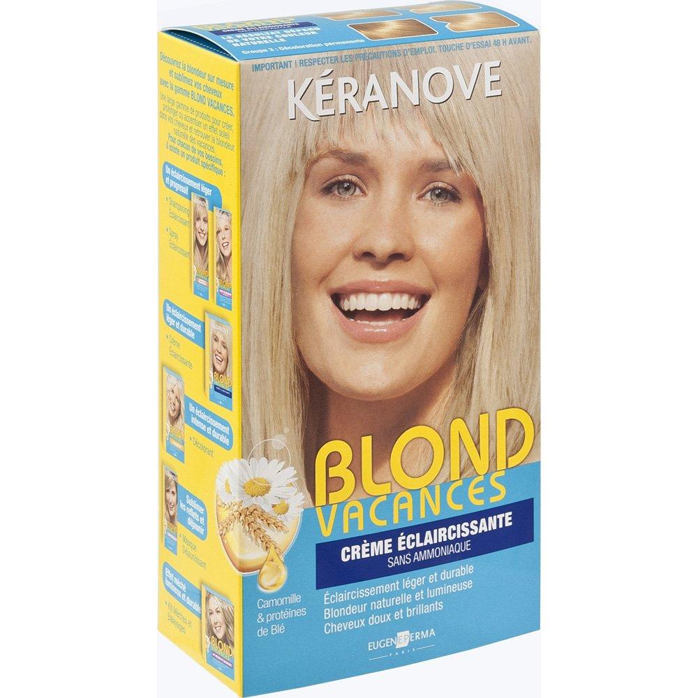 Coloration cheveux blond sans ammoniaque