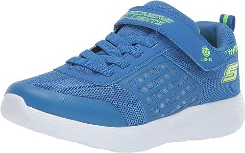 Skechers Boys' S Lights Dyna Lights Sneaker
