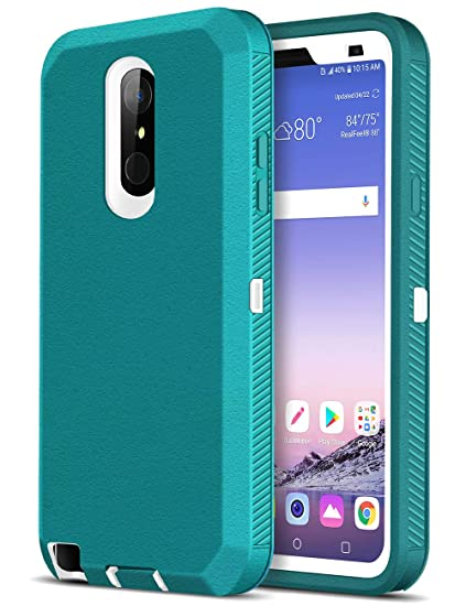LG Stylo 4 Case, iMangoo Armor Cover for LG Stylus 4 Plus Heavy Duty Case  LG Q Stylus Protective Shell Sports Rugged Bumper Shockproof Full Body