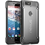 Nexus 6P Case, SUPCASE Google Nexus 6P Case Cover (2015 Release) Unicorn Beetle Series PremiumSlim Hybrid Protective Case / Bumper (Frost/Black)