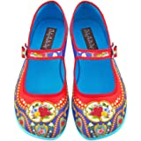 Hot Chocolate Design Chocolaticas Carousel Women's Mary Jane Flat