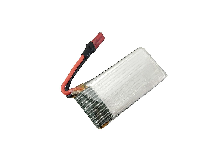 Fytoo Accesorios 5PCS 3.7V 850mah Lipo Batería con 5 en 1 Cargador ...