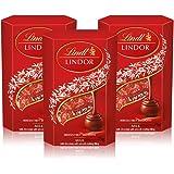 Lindt瑞士莲软心牛奶巧克力私享装75g*3 (亚马逊自营商品, 由供应商配送)