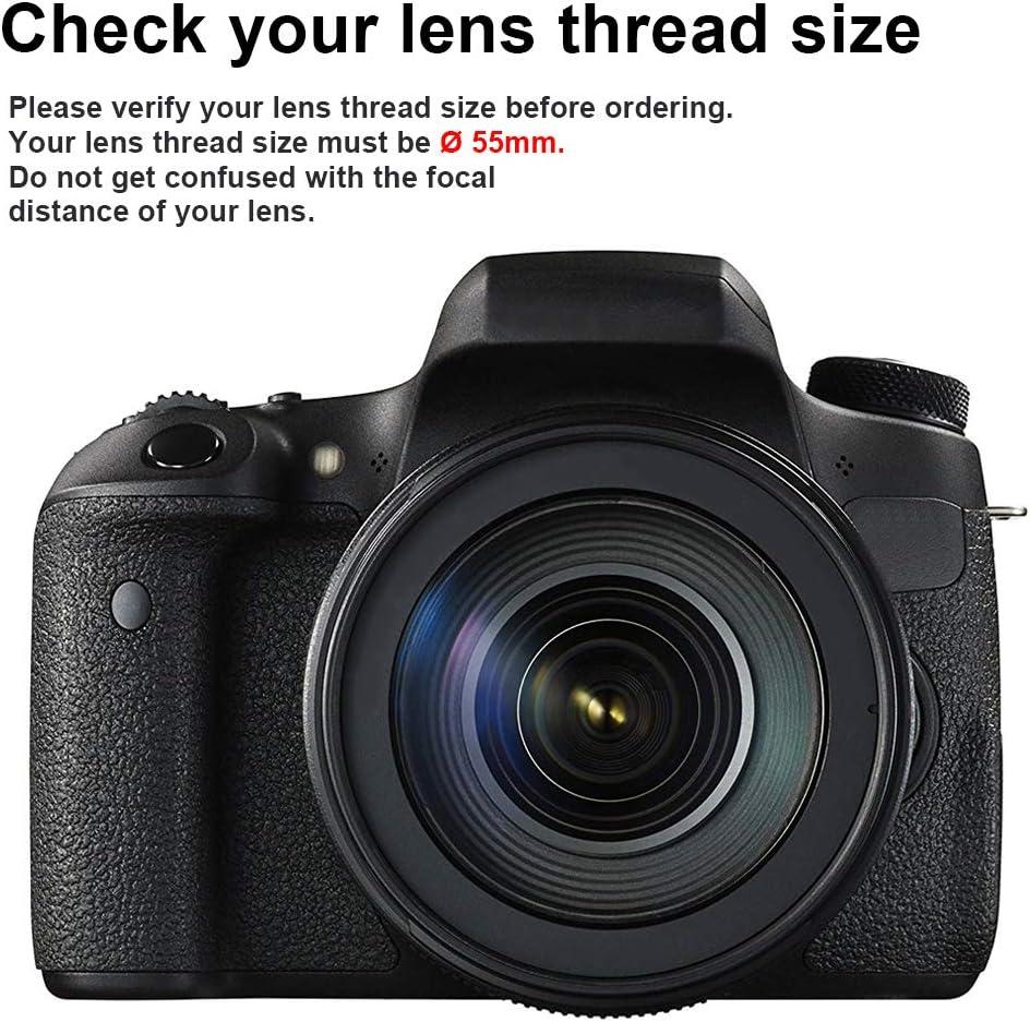 PowerTrust - Objetivo Gran Angular para cámaras Nikon D3400, D5600 ...