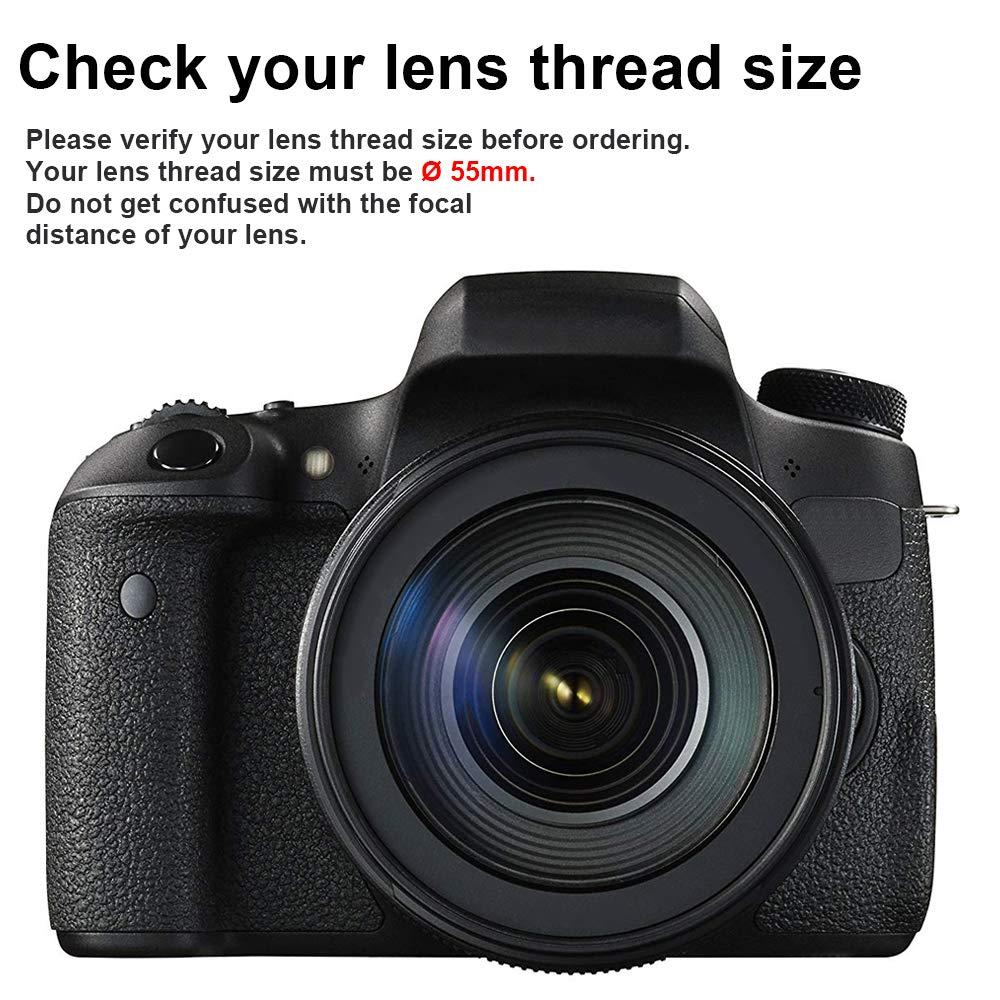 Batmax - Objetivo Gran Angular para cámaras Sony Alpha (55 mm, 0 ...