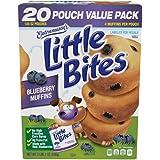 || Entenmann's | Little Bites | Blueberry Muffins | 2 LBS 1 OZ | 936g | 20 Pouches 80 Muffins |Delicious | Yummy |Tasty | 1 B