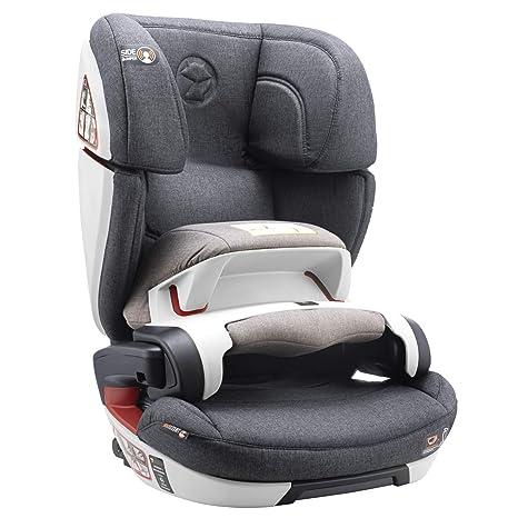 Silla de Coche Grupo 1 2 3, Isofix con Escudo y Normativa ECE R44/04 (Seguridad Máxima para tu Bebé de 9-36 kg) - Silla de Coche 1 2 3 con Elevador ...