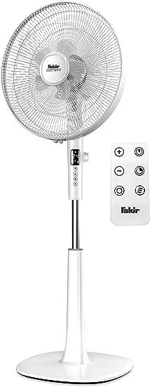 Fakir VC 60 DC Premium - Ventilador de pie con mando a distancia ...