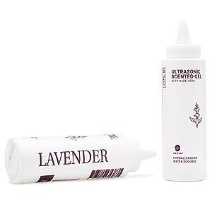 Medvat Clear Transmission Gel - Lavender Scented - 8.5 oz Bottle