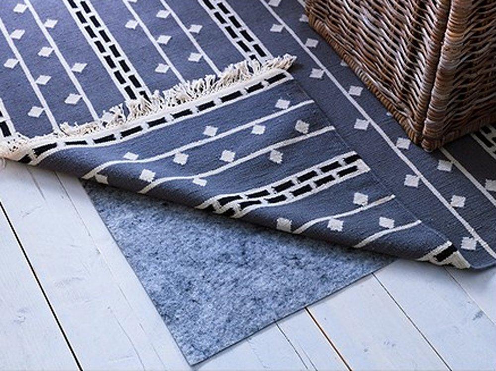 Ikea Rug Underlay Pad With Anti Slip Carpet Stopp Filt 6 X