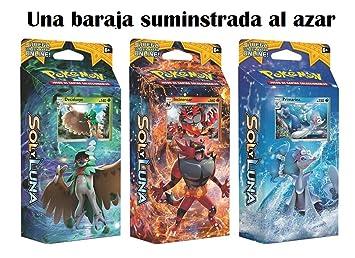 Pokemon JCC - Juego de Cartas Sol y Luna, Español (1 Baraja ...