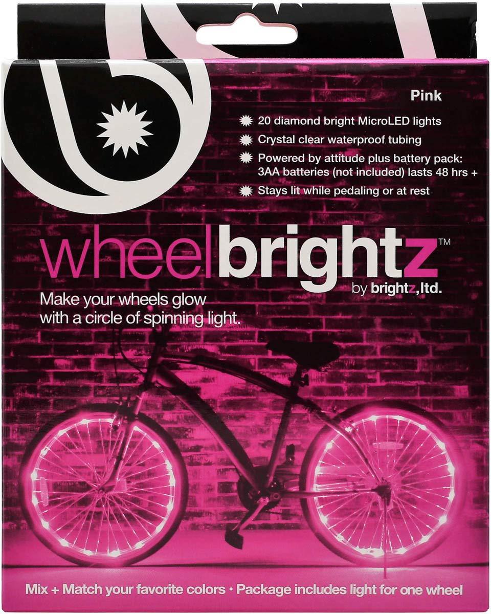 Brightz, Ltd. Wheel Brightz LED Bicycle Accessory Light (for 1 Wheel), Pink by Brightz, Ltd. (Image #4)