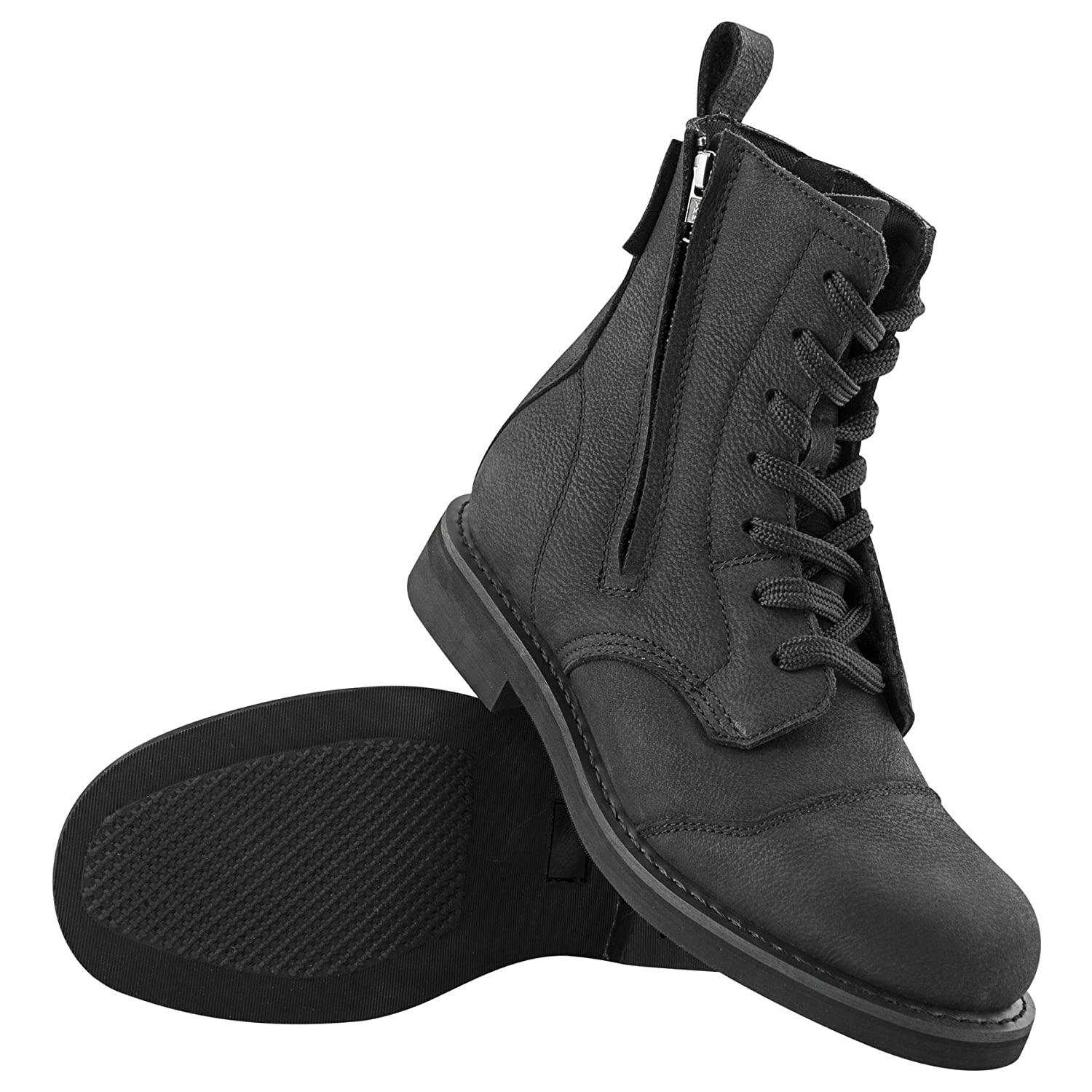 Speed and Strength Black Sz 10 Bikes are in My Blood Boots
