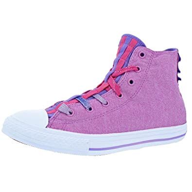 9c7a35b9f0c291 Image Unavailable. Image not available for. Color  Converse Kid s Chuck  Taylor All Star Loopholes Hi Sneaker ...