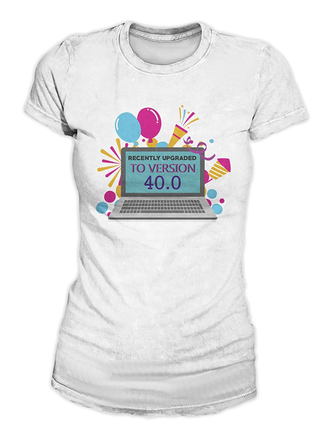 RiotBunny Recently Upgraded To Version 40 Cumpleaños T-Shirt ...