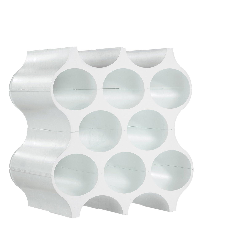 Koziol Etag Re Bouteilles Set Up Thermoplastique Blanc 23 X  # Casier Bouteille Pas Cher