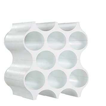 Koziol Flaschenregal Set Up Kunststoff Weiss 23 X 35 3 X 36 4 Cm