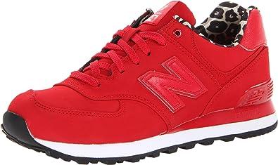 new balance mujer 574 rojas