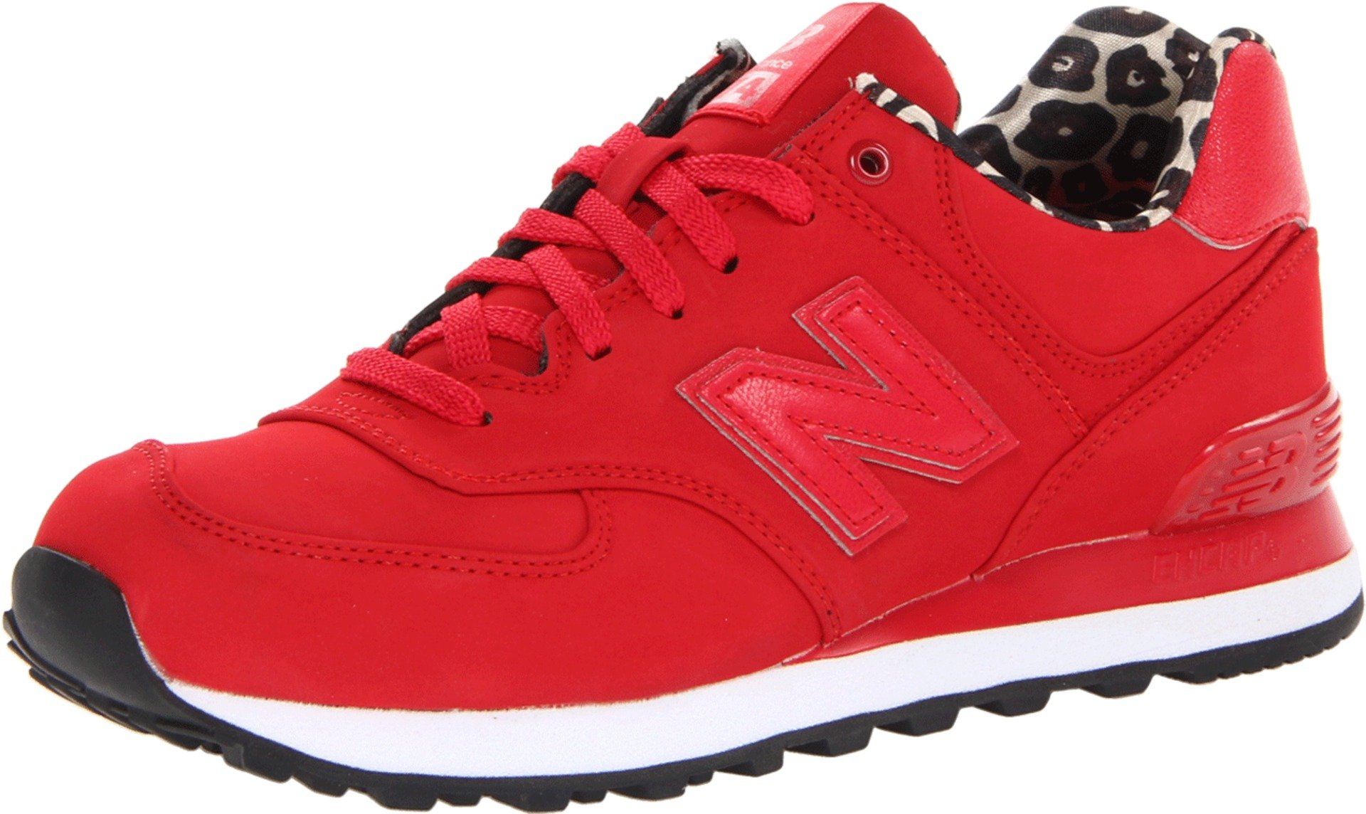 new balance 574 red womens