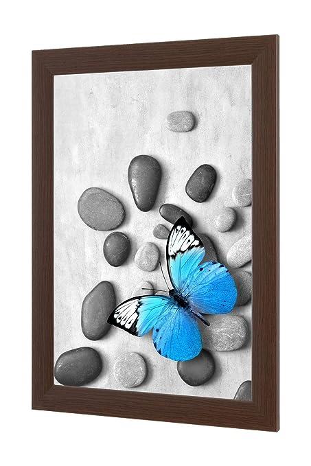 Nira35 Top Picture Frame Pine Black Acrylic Glass Anti-reflective