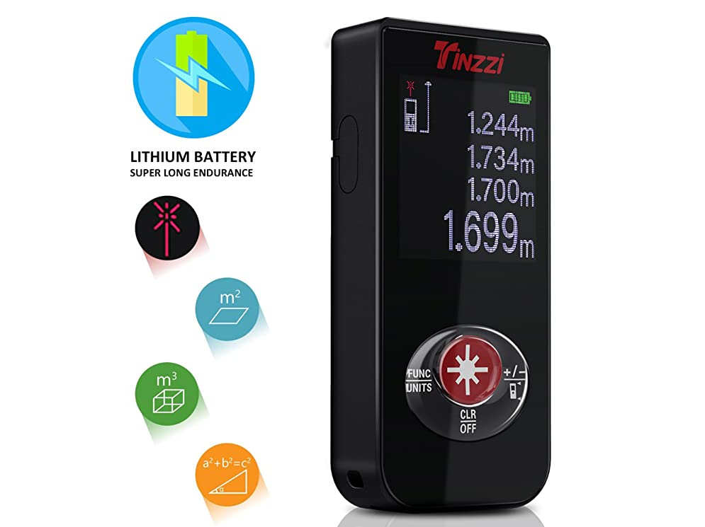 Laser Entfernungsmesser Usb : Entfernungsmesser neuste version tinzzi mini
