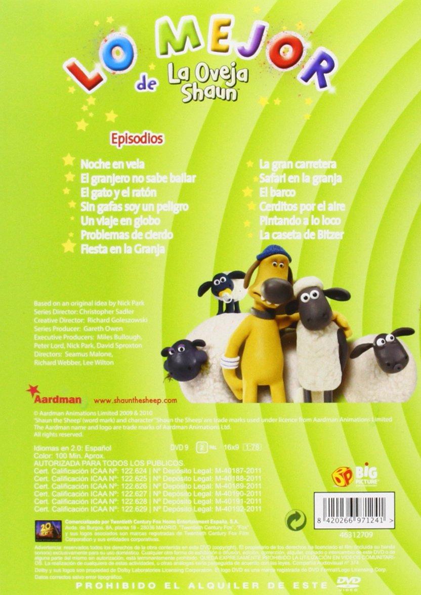 Lo Mejor De La Oveja Shaun [DVD]: Amazon.es: Personajes Animados, Christopher Sadler: Cine y Series TV