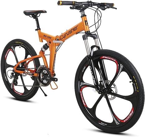 Extrbici Bicicleta de montaña MTB Bike RD100 Bicicleta Plegable 26 ...