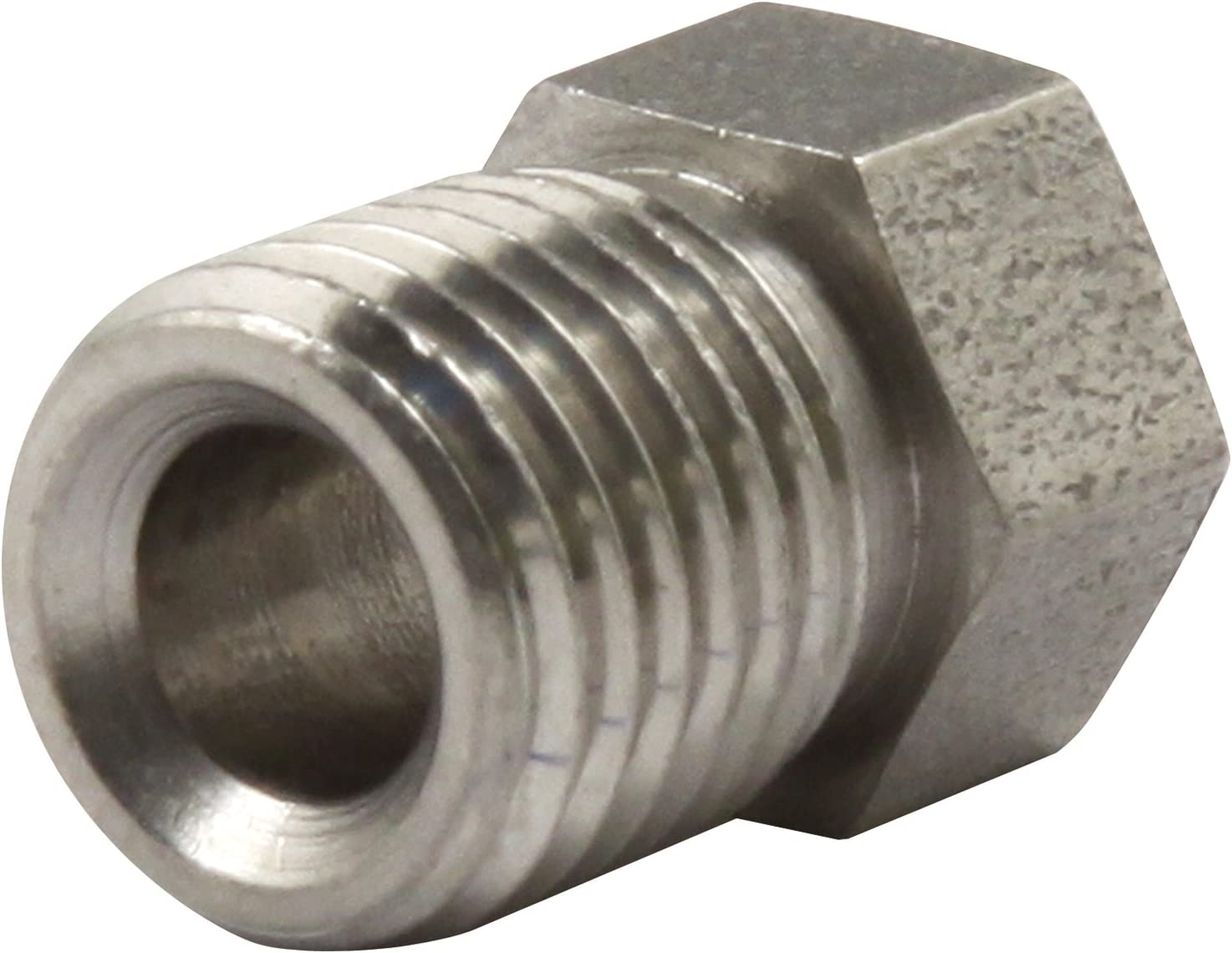 Pack of 10 Allstar Performance Allstar ALL50111 3//8-24 Stainless Inverted Flare Nut for 3//16 Brake Line,