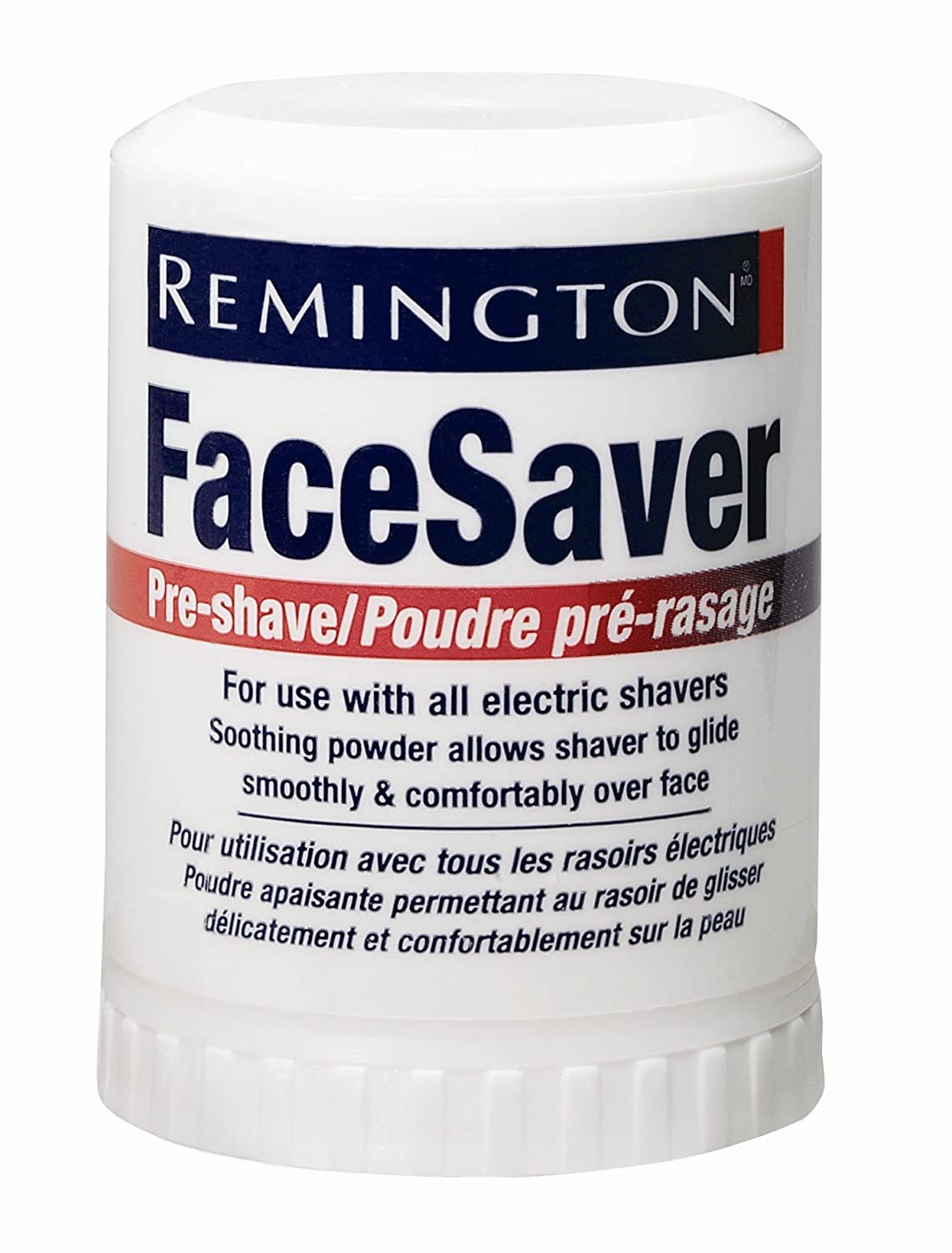 Remington SP-5 Pre-Shave Talc Stick Face Saver For all Men's Shavers, Net Weight. 2.1 Ounce/ 60 g (Pack of 6) 81627-6PACK