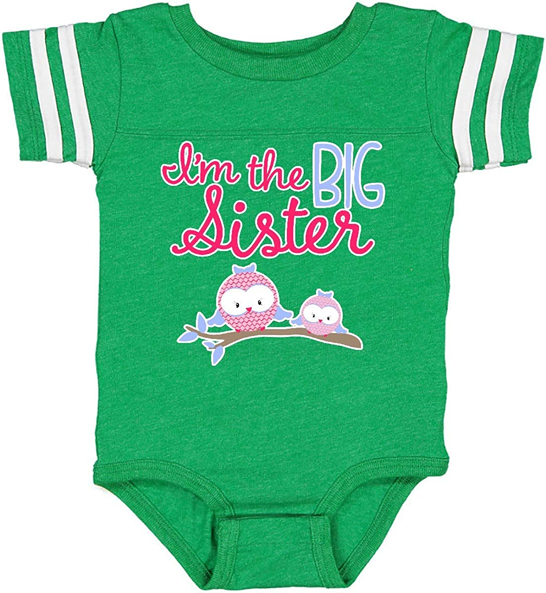 inktastic Big Sister Owls Infant Creeper