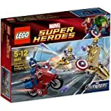 LEGO Super Heroes 6865 - Captain America's Avenging Cycle