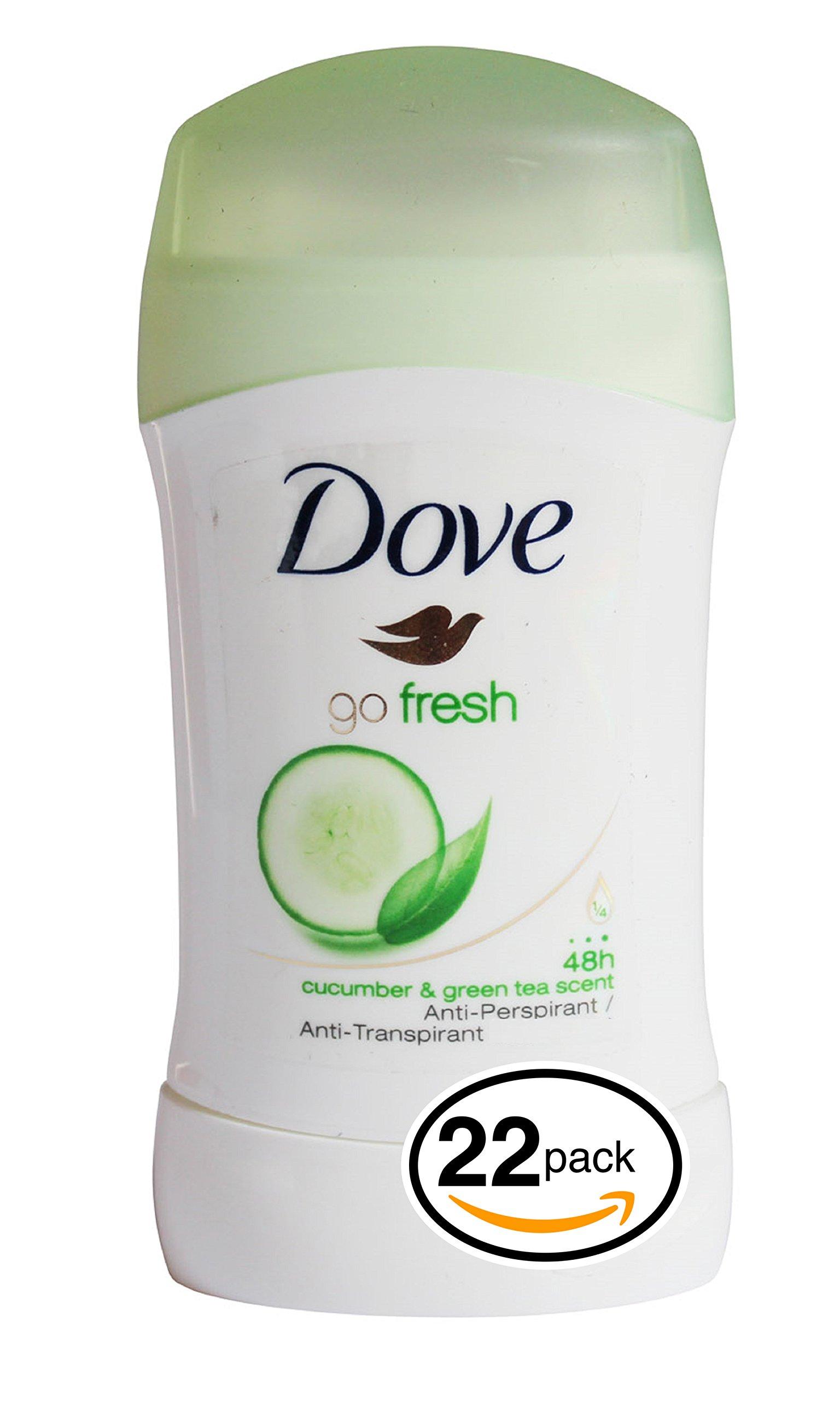 Dove Advanced Care Antiperspirant Deodorant (22-Pack (2.6oz Each Stick), Cool Essentials)