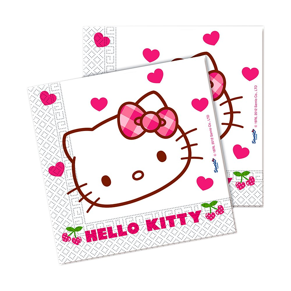 Hello Kitty - Servietten