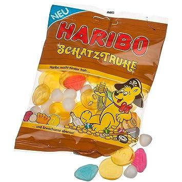 Haribo Cofre del Tesoro, Caramelos de Goma, Monedas ...