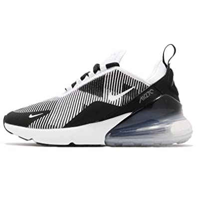 NIKE Air Max 270 Kjcrd (GS), Sneakers Basses Homme, Multicolore (Black