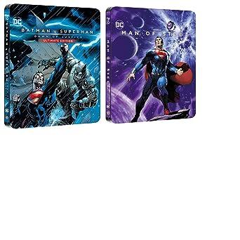Batman V Superman Extended cut Dawn of Justice 2017 Exclusive Ultimate  Edition 182 mins Steelbook Blu 9dccc63ba1bd