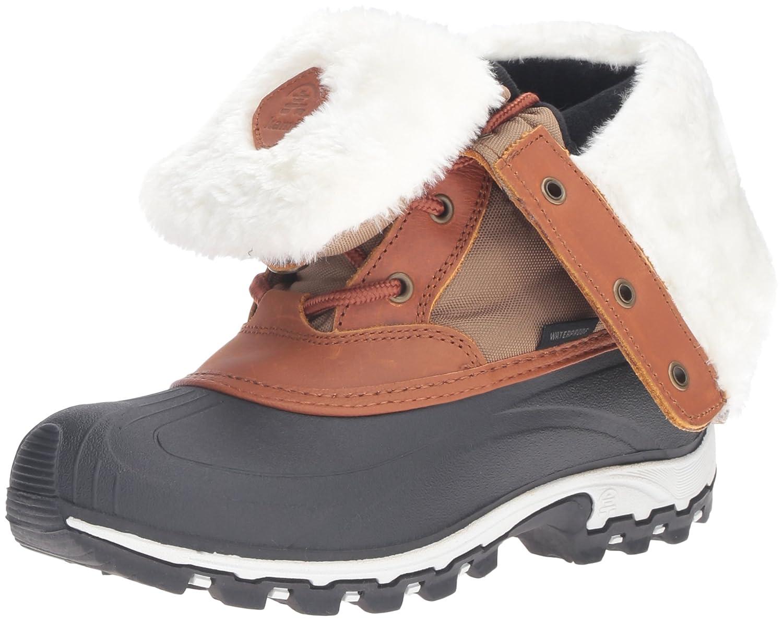 Kamik Women's Harper Snow Boot B0198WBKIG 10 M US|Khaki/Taupe