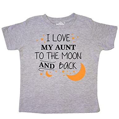 390a3b093 Amazon.com: inktastic - I Love My Aunt to The Moon and Back Toddler ...