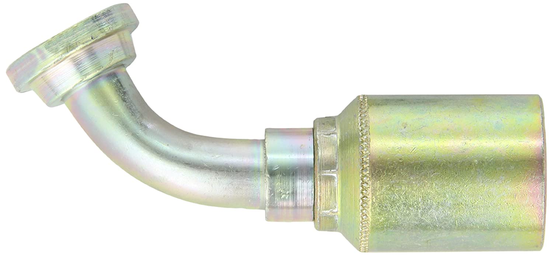 3//4 Hose ID Low Carbon Steel 3//4 Tube Size EATON Weatherhead Coll-O-Crimp 43012U-612 Female Swivel Fitting SAE 37 Degree