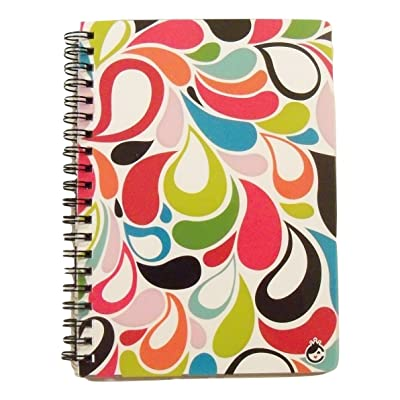 Carolina Pad Studio C College Ruled Poly Cover Spiral Notebook, Sugarland (Flower Petals, 5 Inches x 7 Inches, 80 Sheets, 160 Pages): Toys & Games