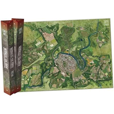 Wings of Glory: City Game Mat: Toys & Games [5Bkhe0202579]