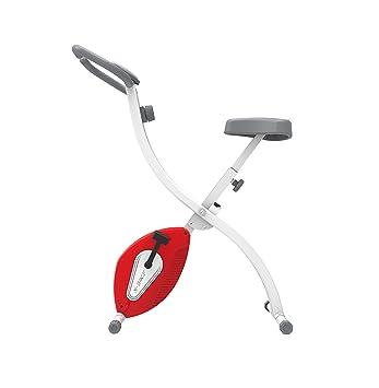 Olympic 2000 Compact Exercise - Bicicletas estáticas y de spinning para fitness, color negro